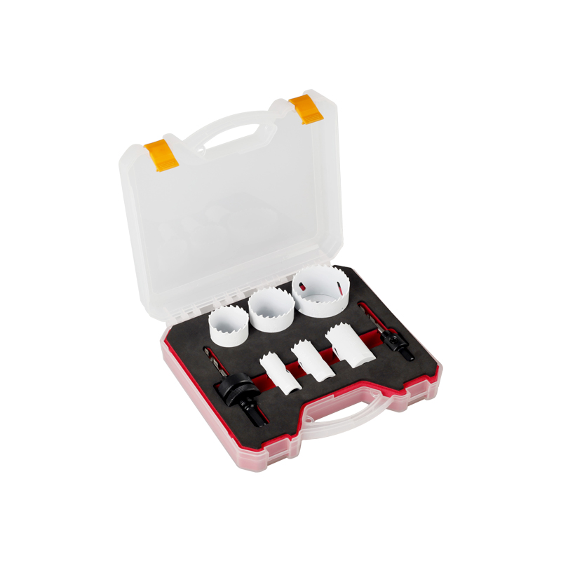 8pc Bi-metal Hole Saw Kit