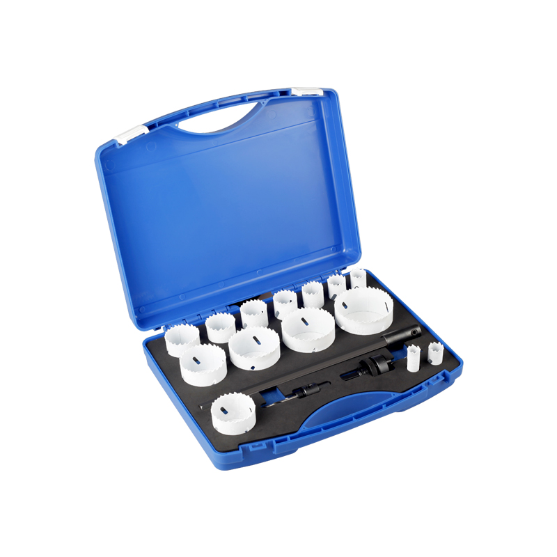 17pc Bi-metal Hole Saw Kit