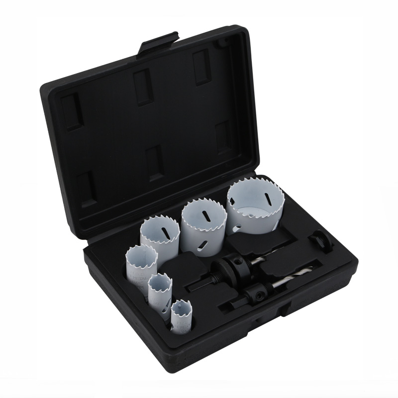 9pc Bi-metal Hole Saw Kit (19-57mm)