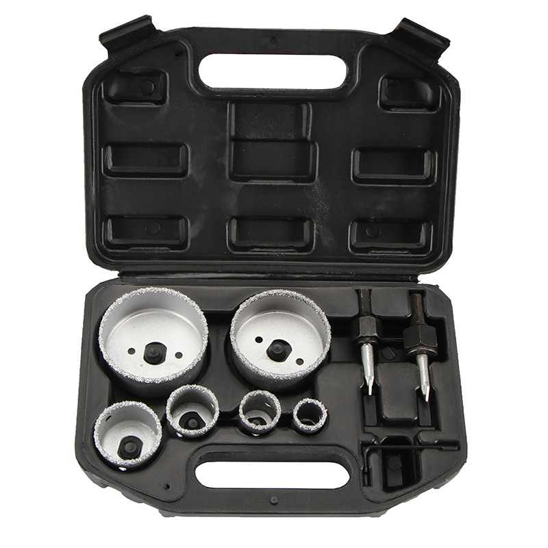 9pcs Tungsten Carbide Hole Saw set